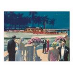 Vintage Antique Sterling Engine Yacht Boat Donald Postcard