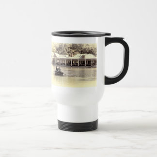 Vintage Antiqued Rowboat Photo of Central Park Coffee Mug