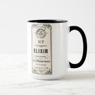 Vintage Apothecary Elixir Label Mug