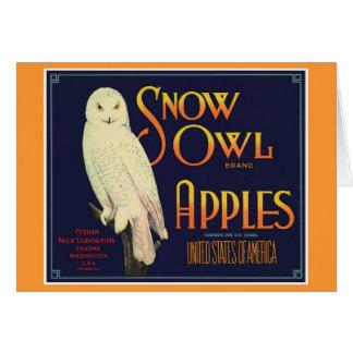 Vintage Apples Food Product Label Cards