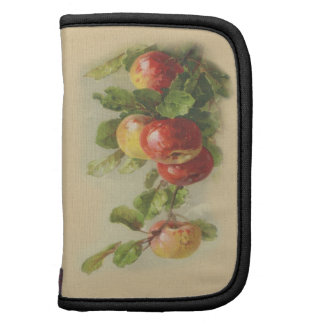 Vintage apples folio planner