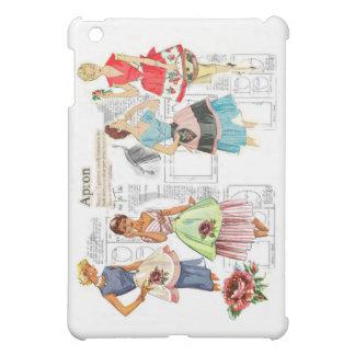Vintage Apron Sewing Pattern iPad Case