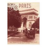 Vintage Arc De Triomphe, Paris, 1903 Postcard
