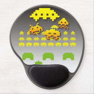 Vintage Arcade Space Games Gel Mouse Pad