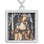 Vintage Archangel, Saint Michael by Burne Jones Necklaces