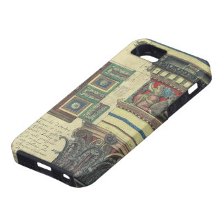 Vintage Architecture, Column with Cornice Moulding iPhone 5 Covers