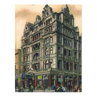 Vintage Architecture Queens Hotel Leicester Square Post Card