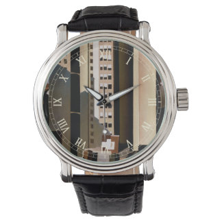 Vintage Architecture, Skyscraper by Sheeler, 1922 Wrist Watches