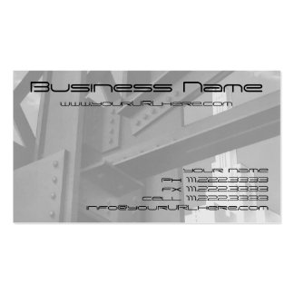 Vintage Architecture Steel Construction Skyscraper Pack Of Standard Business Cards
