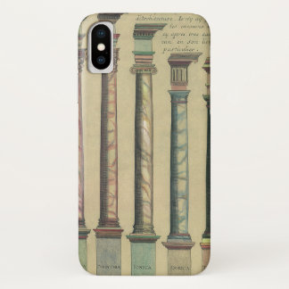 Vintage Architecture, the 5 Architectural Orders iPhone X Case