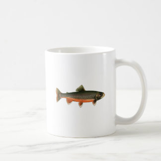 Vintage Arctic Char Illustration - Breeding Male Coffee Mug