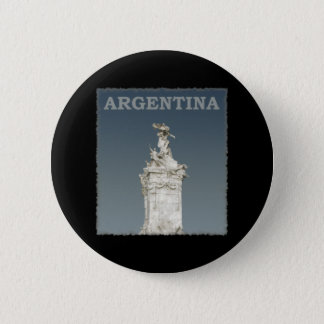 Vintage Argentina 6 Cm Round Badge