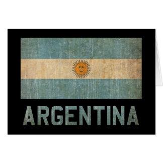 Vintage Argentina Card