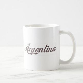 Vintage Argentina Coffee Mug