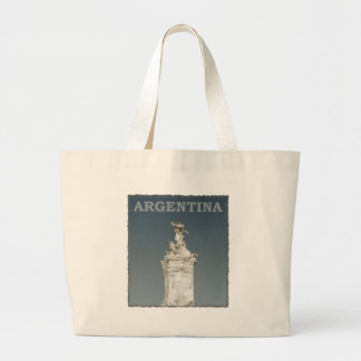 Vintage Argentina Large Tote Bag