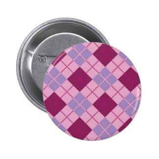 VINTAGE ARGYLE PINK PURPLE PIN