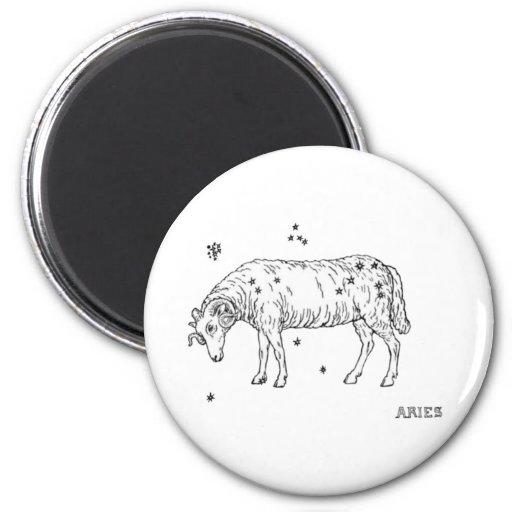 Vintage Aries Magnet