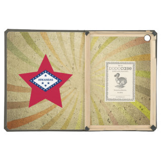 Vintage Arkansan Flag Swirl iPad Air Covers