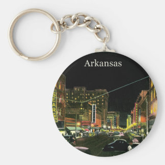 Vintage Arkansas Key Ring