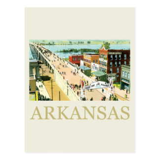 Vintage Arkansas Postcard