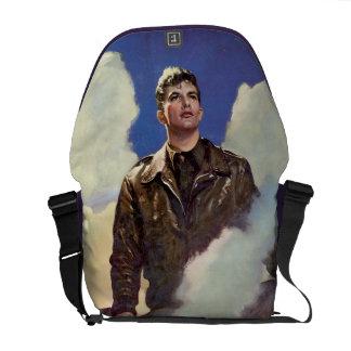 Vintage Army Air Forces World War II Messenger Bag