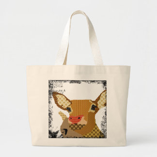 Vintage Art Bag Jumbo Tote Bag