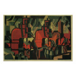 Vintage Art Deco Business, Manufacturing Workers