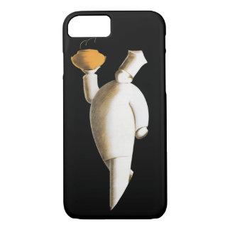 Vintage Art Deco Business, Restaurant Chef iPhone 7 Case