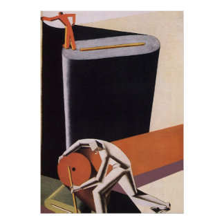 Vintage Art Deco Business Textiles Print