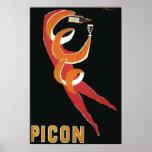 Vintage Art Deco by Bernard Villemot/ Picon Poster