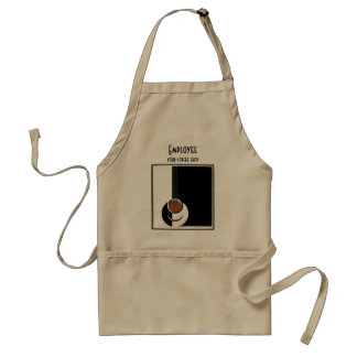 Vintage Art Deco, Cup of Coffee with Steam Standard Apron