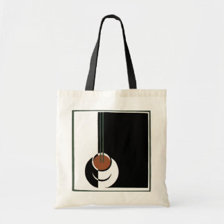 Vintage Art Deco Cup of Coffee with Steam Budget Tote Bag