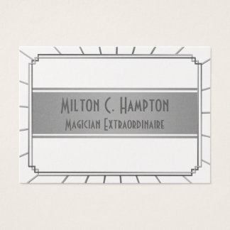 Vintage Art Deco Gatsby Style Frame Business Card