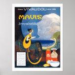 Vintage Art Deco Mavis Perfume 1920 Advertising Print