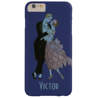 Vintage Art Deco Newlyweds, Love Wedding Dance Barely There iPhone 6 Plus Case