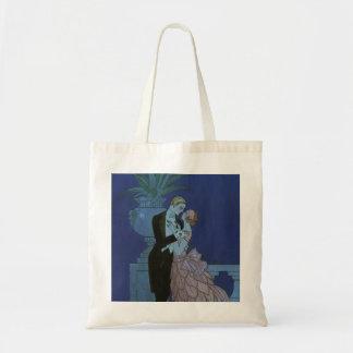Vintage Art Deco Newlyweds, Oui by George Barbier Tote Bag