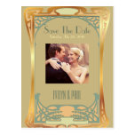 Vintage Art Deco Save The Date ~ Gatsby Inspired