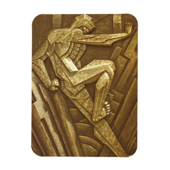Vintage Art Deco Sculpture Magnet
