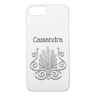 Vintage Art Deco Silver Plume Arabesque iPhone 8/7 Case
