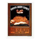 Vintage Art deco Simplon Orient Express Athens Postcard
