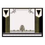 Vintage Art Deco Wedding Place Card Personalised