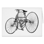 Vintage Art Early Bicycle Tricycle Steampunk Cards