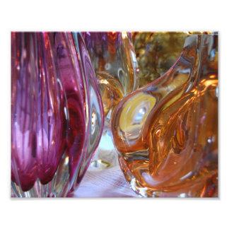 Vintage Art Glass Photography print