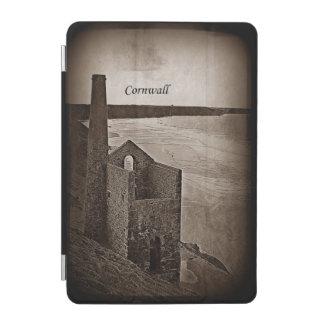 Vintage Art Image of Cornwall Tin Mine Ruins iPad Mini Cover