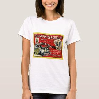 Vintage Art Macaroni Label Poster T-Shirt
