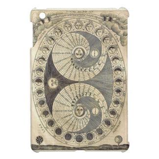 Vintage Art Moonchart - phases of moon iPad Mini Case