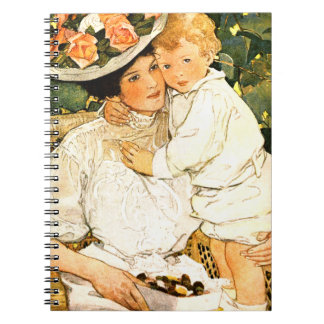 Vintage Art Mother's Day Gift Notebooks