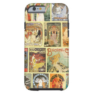 Vintage Art Nouveau Advertisements Tough iPhone 6 Case