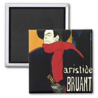 Vintage Art Nouveau Aristide Bruant Ambassadeurs Magnets