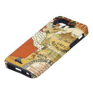 Vintage Art Nouveau, Beer Bar Cafe and Restaurant iPhone 5 Case